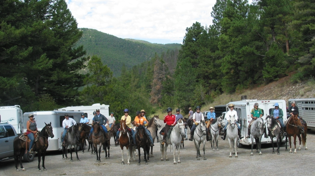 Ready to ride!   Montana Clinic, 2013.   Photo credit Lane Coulston